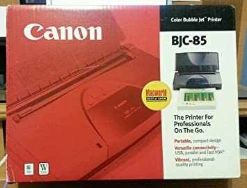 CANON BJC 85 PRINTER DRIVERS WINDOWS XP