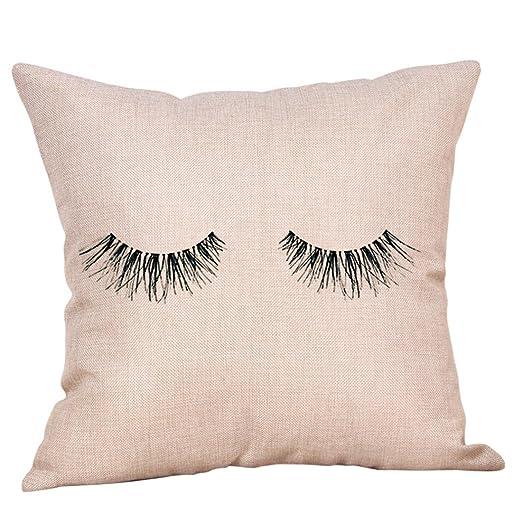 Fundas de almohada creativas para pestañas, estilo conciso y ...