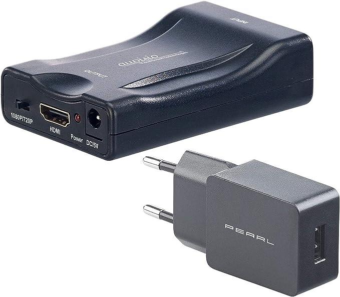 Auvisio Signaladapter Scart Auf Hdmi Adapter Elektronik