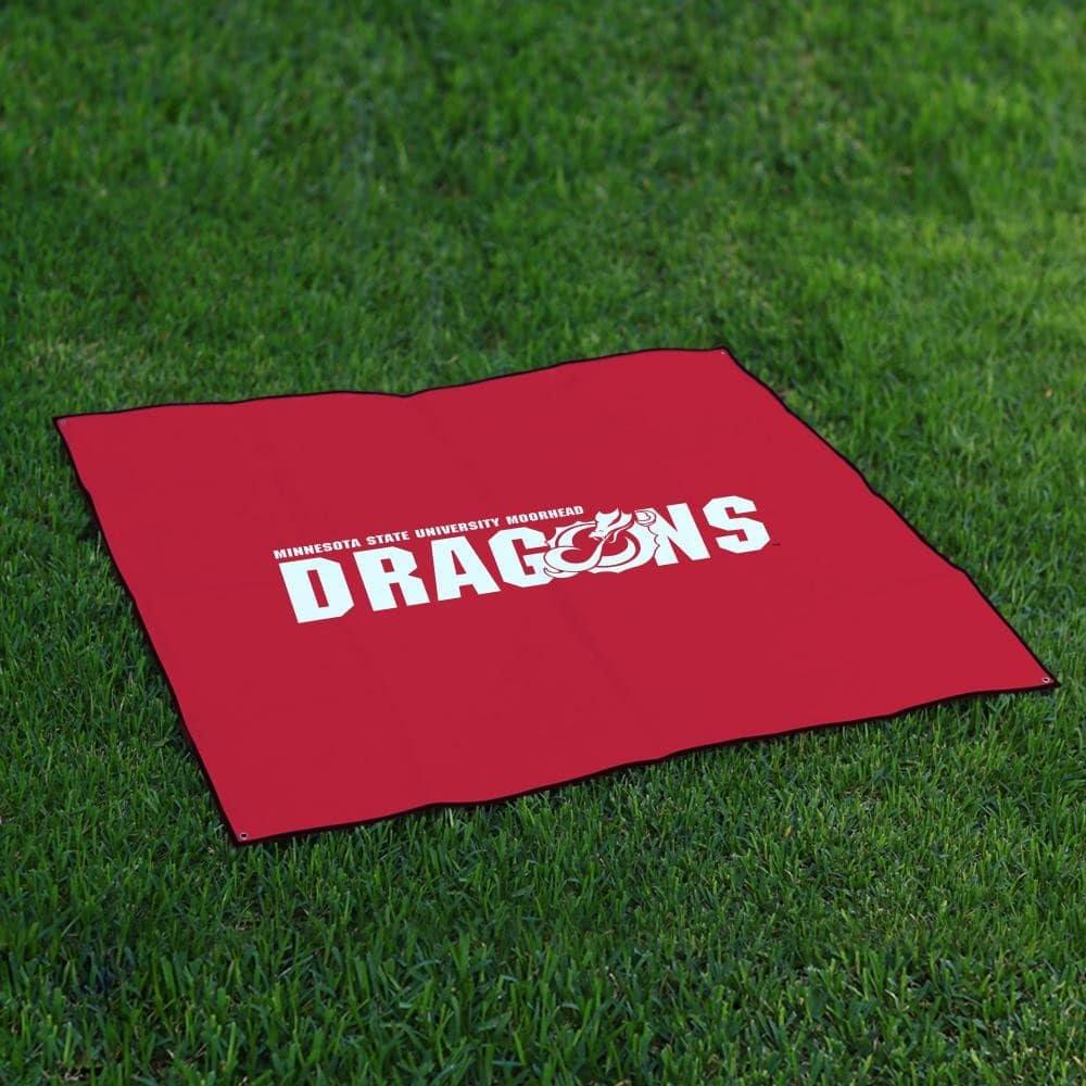 Minnesota State Moorhead DragonsテールゲートBlanket Legacy B0727ZD453