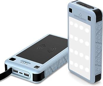 ZeroLemon Portable Solar Battery Charger