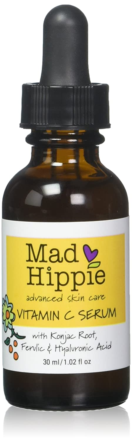 Mad Hippie Vitamin C Serum (Pack of 2) with Vitamin C and Grapefruit, 30 mL