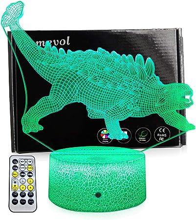 Amazon.com: LLAMEVOL Dinosaurios juguetes luces nocturnas ...