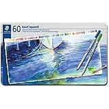 Lápis de Cor Aquarelável, Staedtler, Karat, 125 M60 11, 60 Cores
