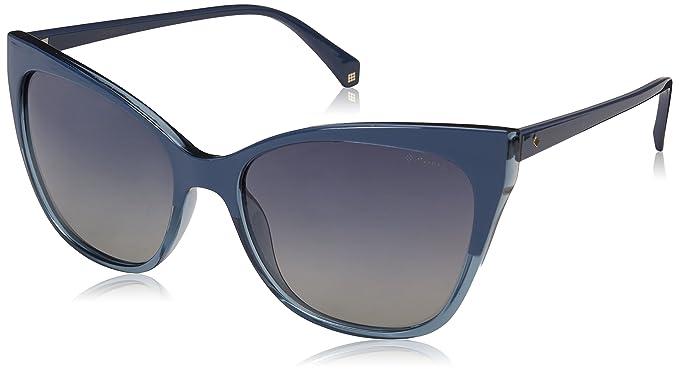 Polaroid Damen Sonnenbrille » PLD 4060/S«, blau, PJP/Z7 - blau/blau