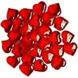 ElE&GANT 1LB(Approx 225Pcs) Red Acrylic Heart For Table Scatter Decoration or Vase Filler by ElE&GANT