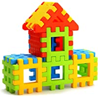 Lodestone Building Block Toy for Kids, Age 2 to 5, 20 Piece (Multicolour)