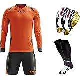 bb130af5a47 Givova XL Yellow Black Goalkeepers Shirt Shorts Football Teams ...