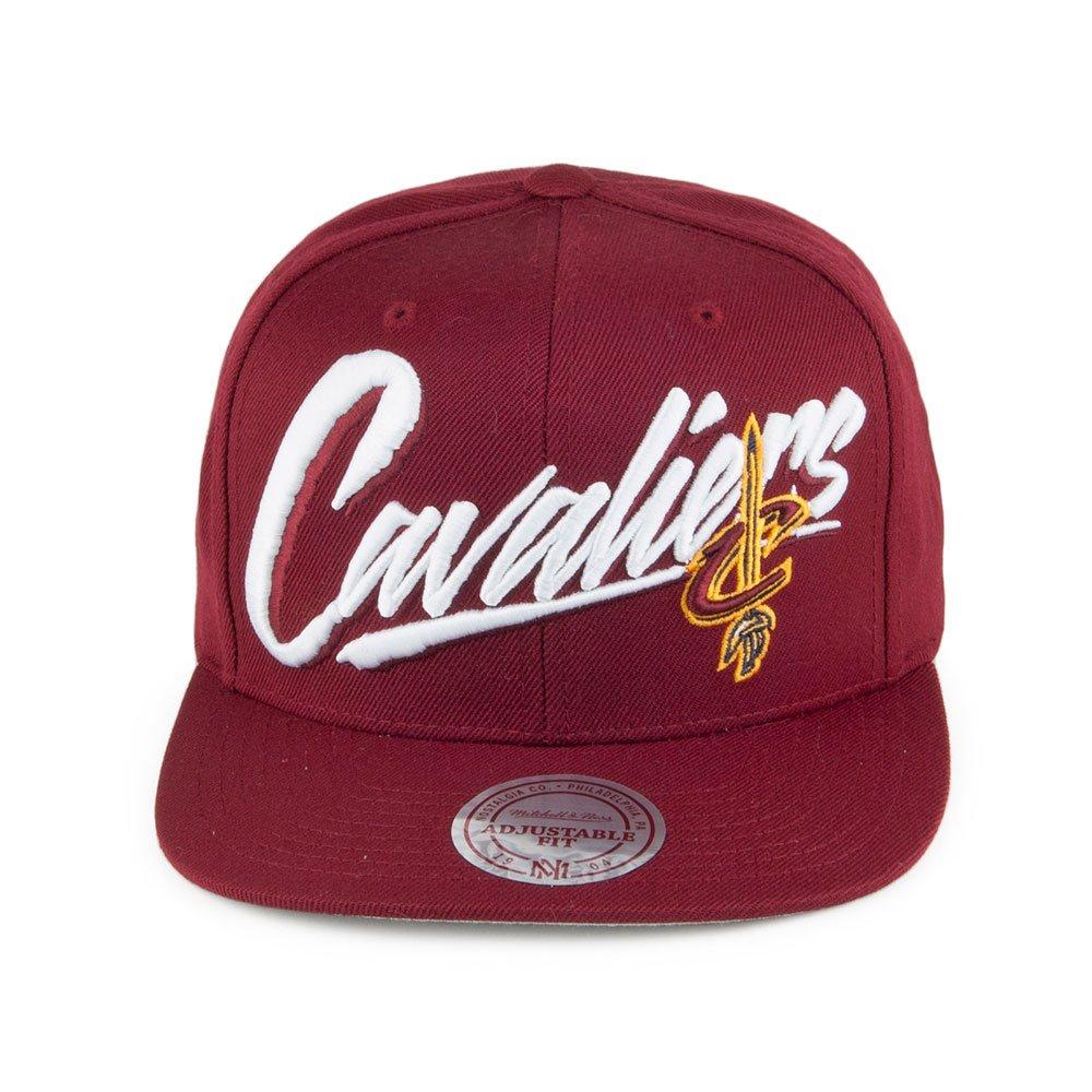 finest selection ec4c8 e9cba Mitchell   Ness Cleveland Cavaliers Vice Script EU1115 NBA Snapback Cap  Basecap  Amazon.co.uk  Clothing