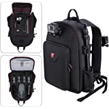 Smatree Multi-Purpose Backpack for DJI Mavic Pro Platinum / GoPro Hero Session/ Hero 6/ 5/ 4/ 3/ 2/ 1