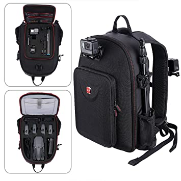 Smatree Mavic Pro Backpack Compatible for DJI Mavic Platinum/DJI Mavic Pro  Fly More Combo/GoPro Hero 2018/7/6/5/4/3+/3(Not fit for Mavic 2 pro/Mavic 2