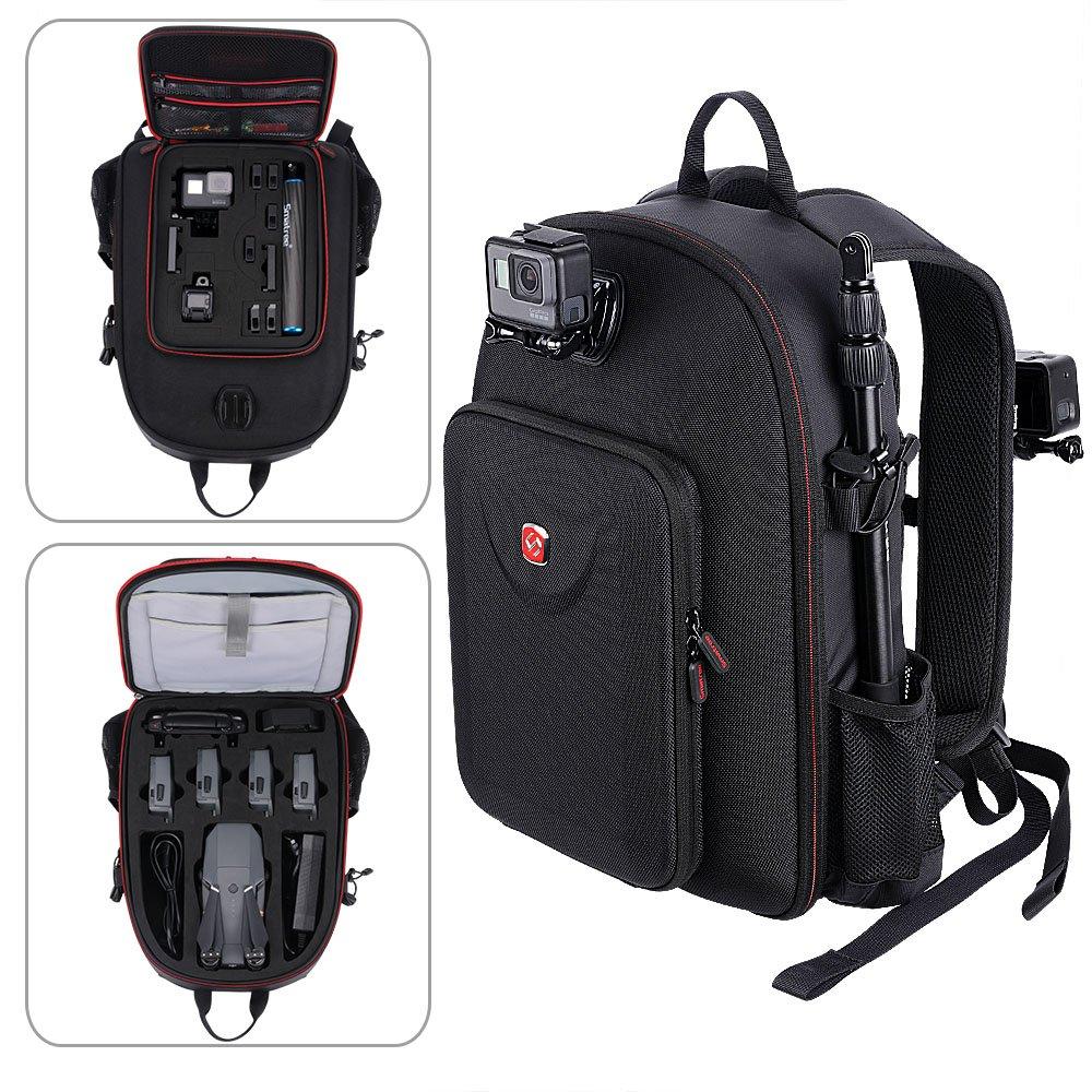 Smatree Backpack for DJI Mavic Pro Platinum/GoPro Hero 2018/ Hero 6/5/ 4/3+/3(Not fit for Mavic 2 pro/Mavic 2 Zoom)