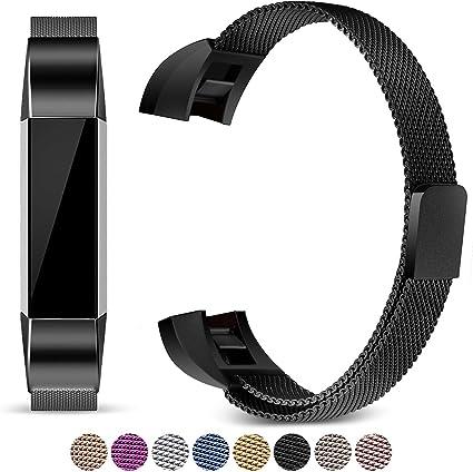 Sécurisé Sangle Pour Fitbit Alta Bande Bracelet Boucle Traqueur de Fitness
