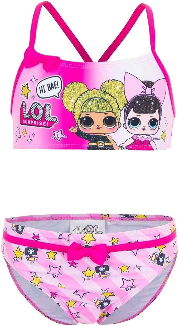 LOL Surprise SE6312 - Disfraz de Dos Piezas, Bikini, poliéster ...