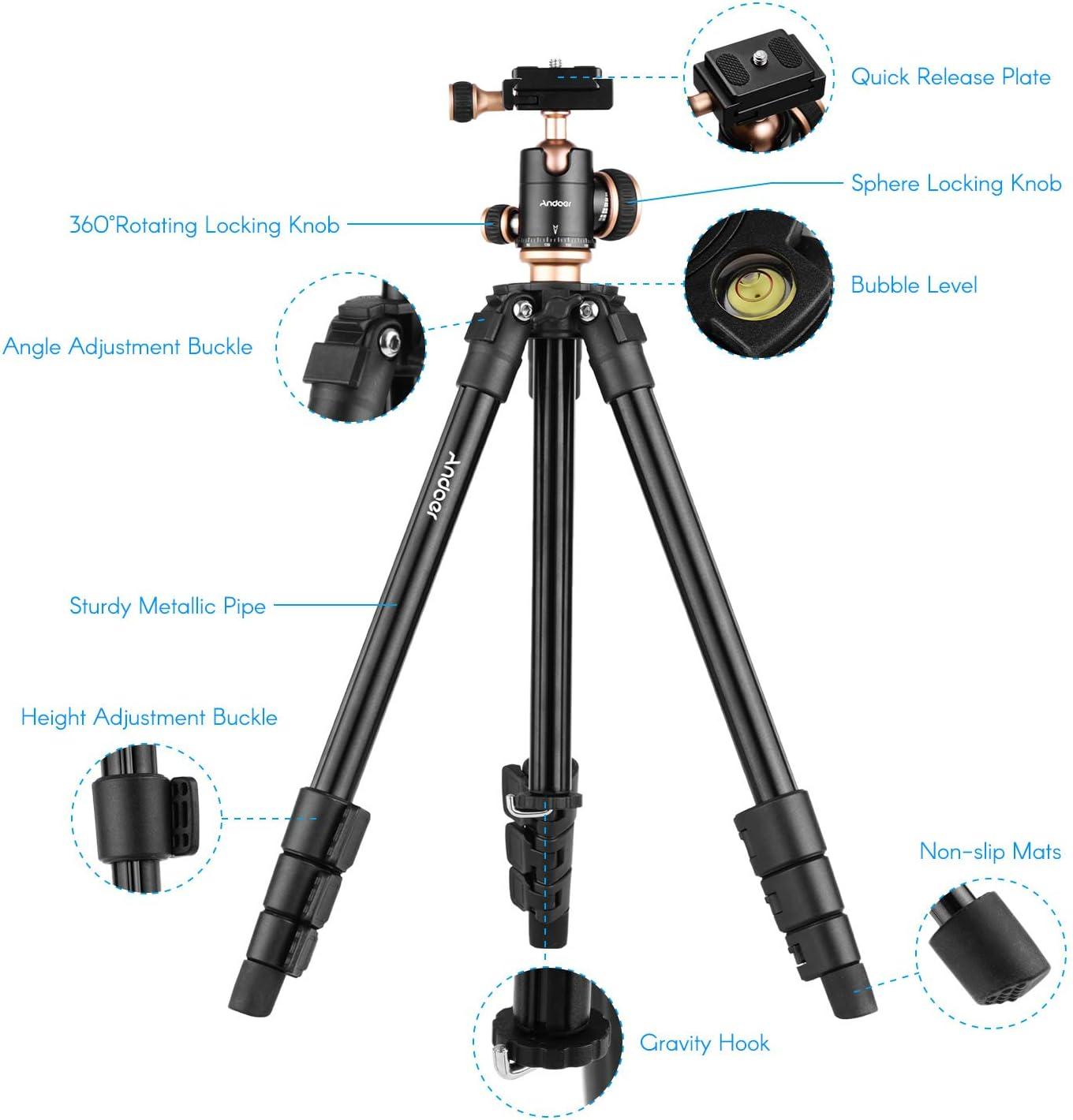 Stative & Galgen Zubehr Andoer Q160SA Kamerastativ Komplette ...