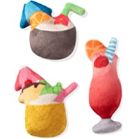 Fringe Studio Pet Toy, Small Dog Toy Set, Tropical Drinks, 3 Pieces (289413)