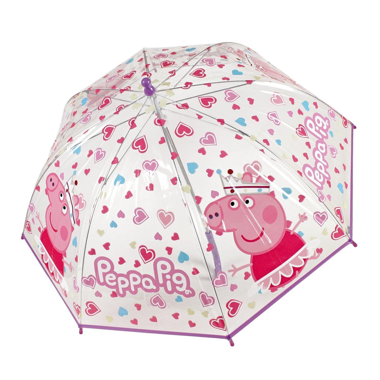 Divertido paraguas de Pepa Pig.