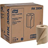 """Tork Universal RK350A Hardwound Paper Roll Towel, 1-Ply, 7.87"""" Width x 350' Length, Natural, Green Seal Certified (Case of 12 Rolls, 350 per Roll, 4,200 Feet)"""