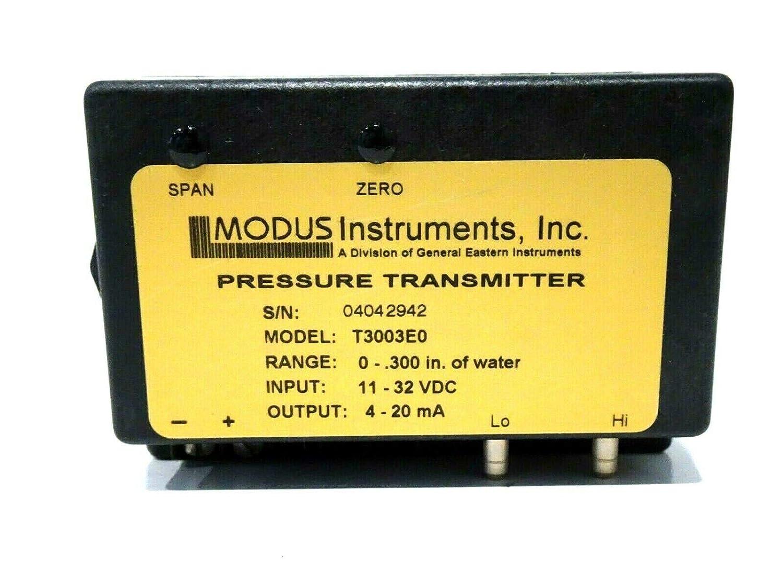 New MODUS INSTRUMENTS T3003E0 Pressure Transmitter