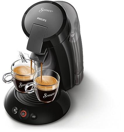 Philips Cafetera de monodosis de café HD7818/22 HD7818/22-Senseo Original XL, Color, 1450 W, 2 Cups, 0.35, plástico, Negro: Amazon.es: Hogar
