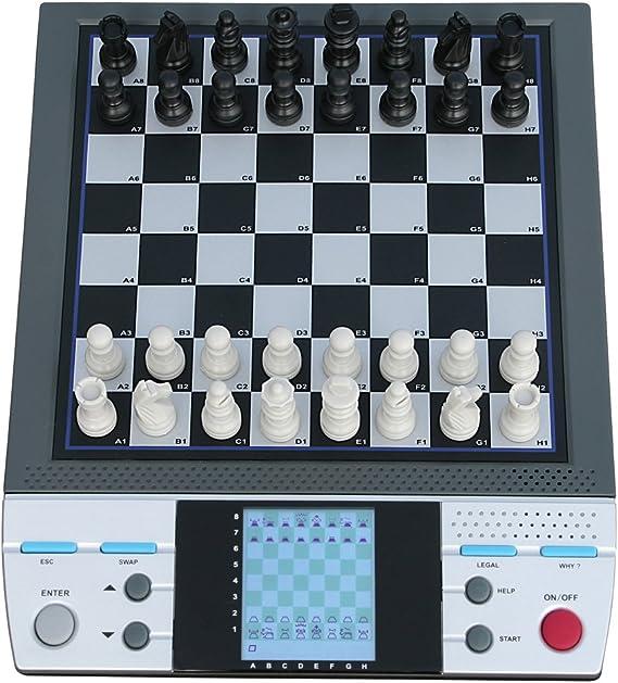 Aquamarine AJEDREZ ELECTRONICO C/Voz.: Amazon.es: Juguetes y juegos