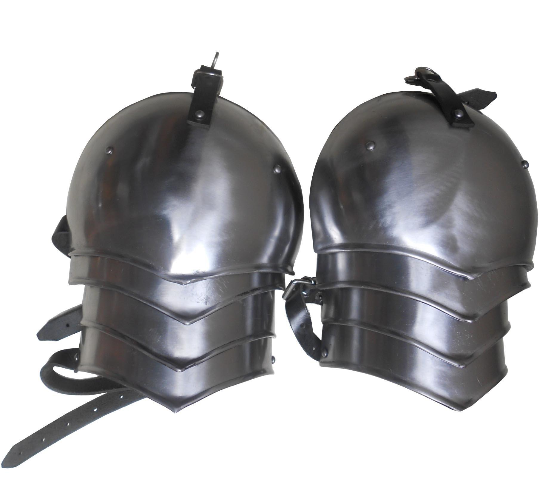 Steel Shoulder Plates Medieval Costumes Shoulder Armor Set SPAULDER Set