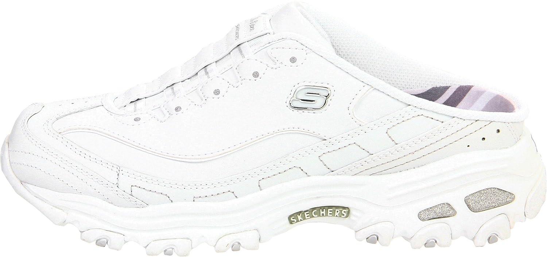 Skechers D´Lites Airy Pantoletten weiß 11449WHT