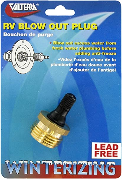 Valterra P23518LFVP Blow Out Plug
