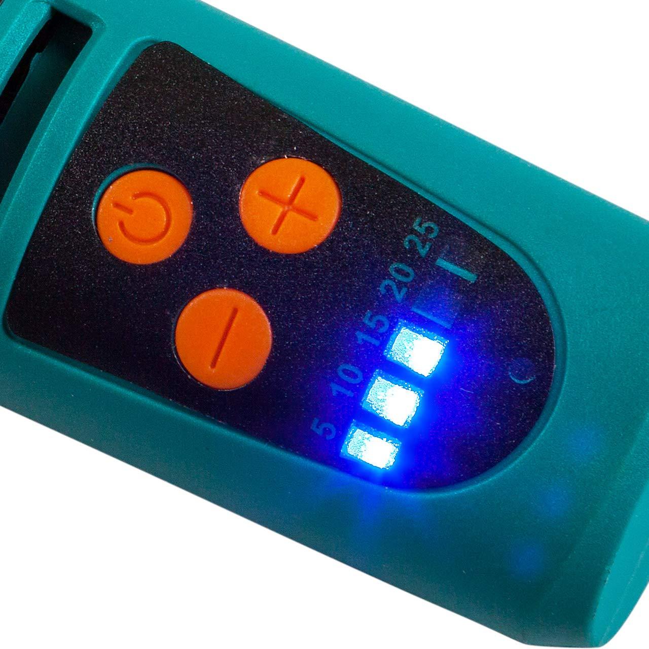 Bort Mini Amoladora Bater/ía bater/ía de iones de litio Herramienta rotativa el/éctrica sin cable BCT-72Li con control electr/ónico de velocidad iluminaci/ón frontal 7.2 V