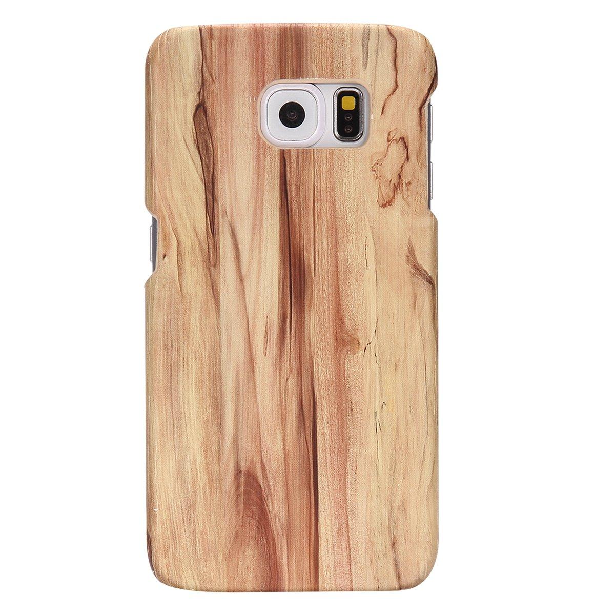 Samsung S6/Funda Madera Slim Luxury/ /Carcasa r/ígida con PC Plastic Back Madera Cover n-incomparable duraderas fina Madera mobile Bumper Samsung S6/Funda felfy m/óvil para Samsung Galaxy S6 Galaxy S6/Wood Case