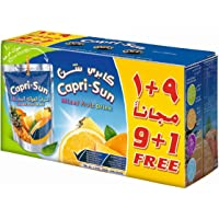 Capri Sun Mix Fruit  (9+1)Promo - Pack of 10 x 200 ml