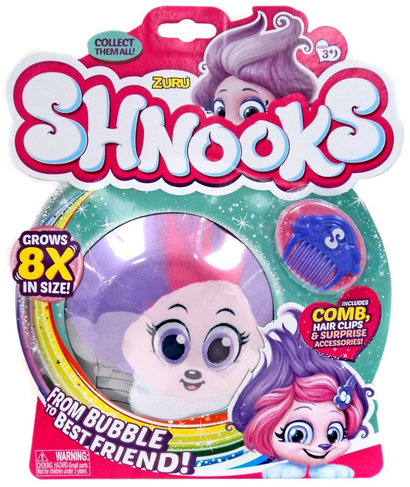 Shnooks suave peluche con accesorios (SHMILEY): Amazon.es: Juguetes y juegos