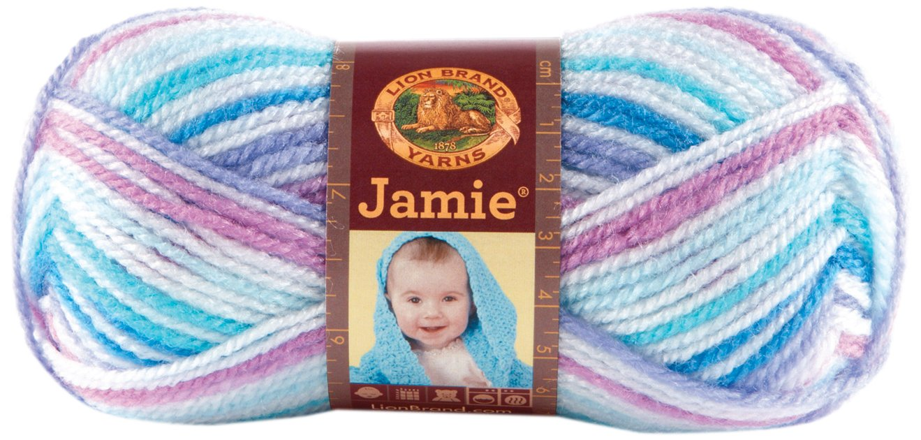 Bulk Buy: Lion Brand Jamie Yarn (3-Pack) Twinkle Stripes 881-203
