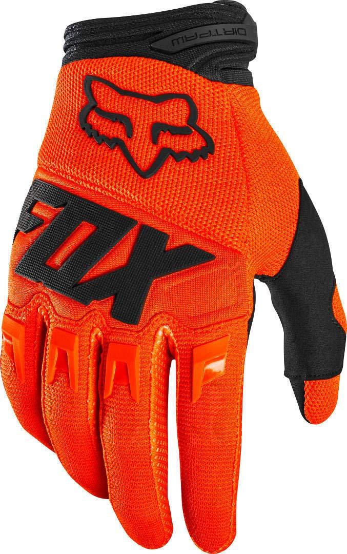 Fox Dirtpaw Glove Race Blue//White