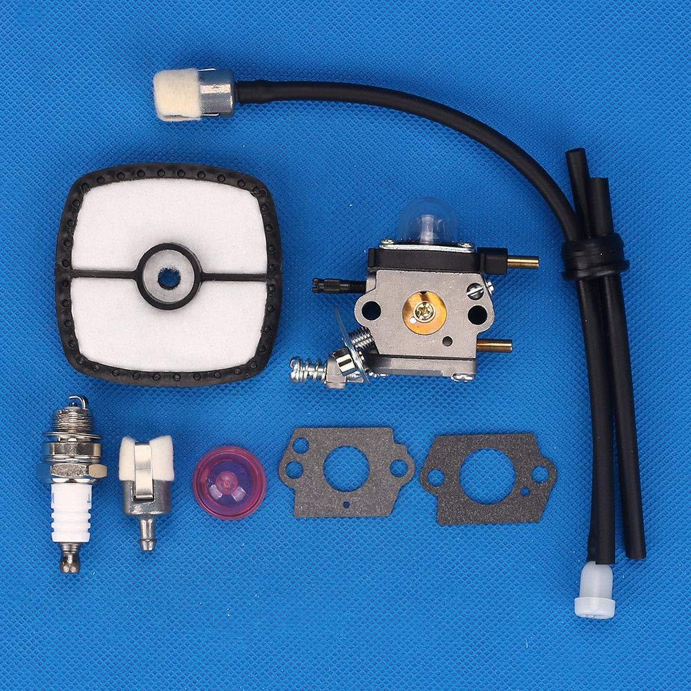 FidgetKute A021001090 A021001091 A021001092 Zama C1U-K82 Spark Plug Air Filter Carburetor