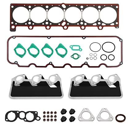 PartsSquare Cylinder Head Gasket Set for BMW M20 E30 E34 325i 325is 325iX  525i