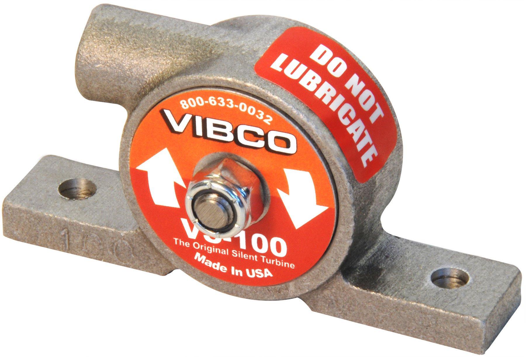 Pneumatic Vibrator, 20 Lb, 12, 000Vpm, 60Psi by Vibco