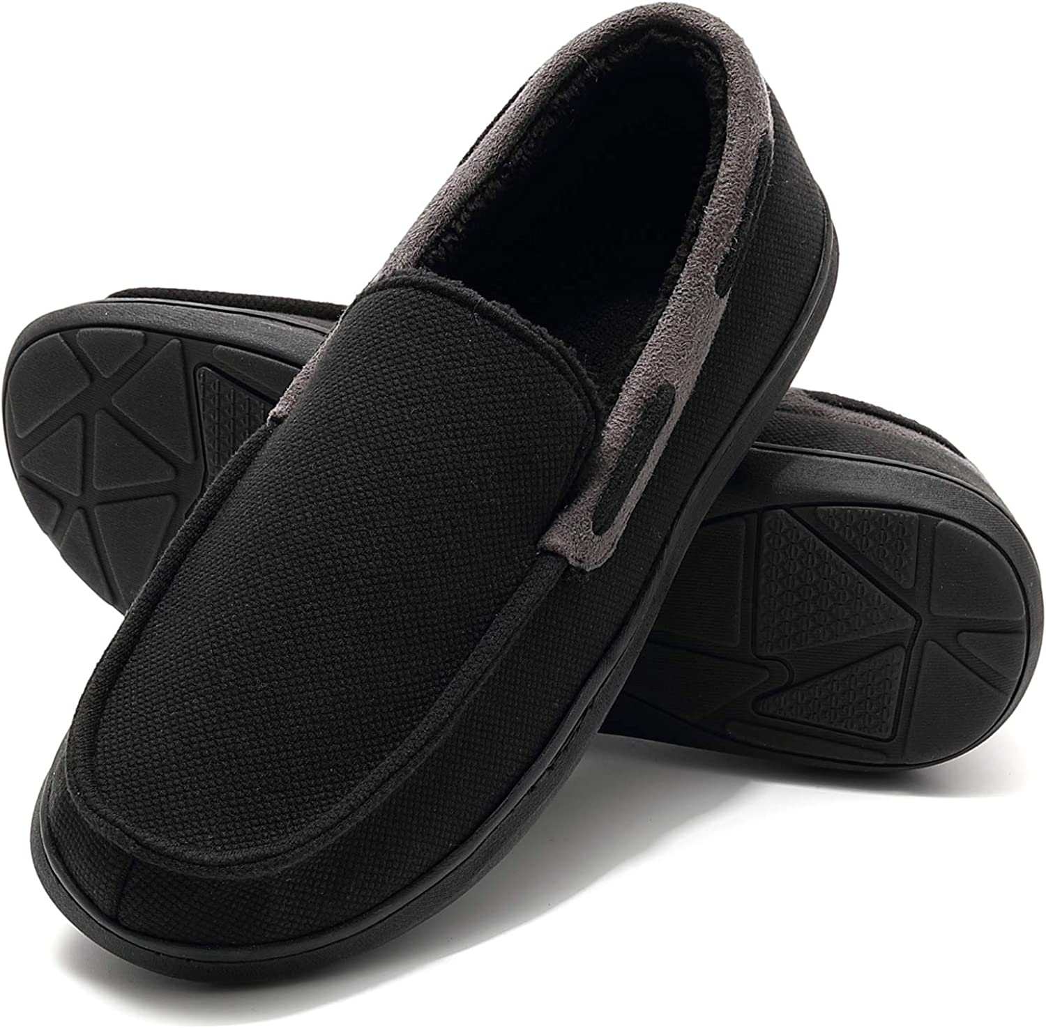 Amazon.com | Mens Moccasin Slippers