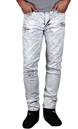 37f2921f2597e0 Jordan Craig Slim Straight Acid Wash Aaron Jeans from Legacy Edition at Amazon  Men s Clothing store