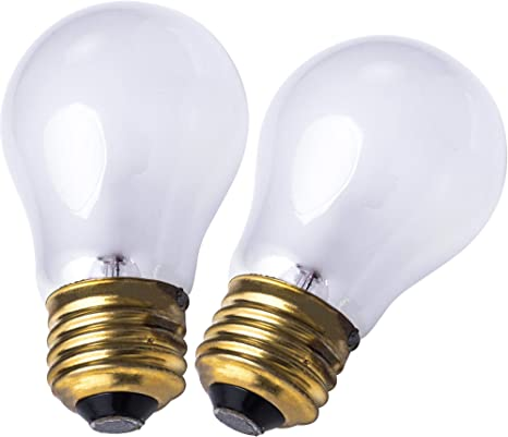 Ultra Durable 8009 Light Bulb 40 Watt E26 27 Replacement Bulbs For Oven Stove Refrigerator Microwave By Blue Stars Replaces 4169617 4173062 4211947 42585 4324154 Pack Of 2 Amazon Com