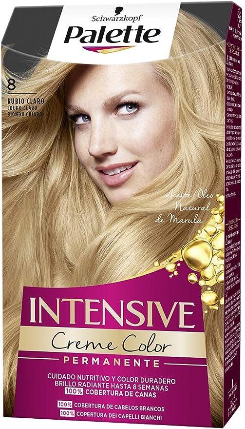 Schwarzkopf Palette Intensive Creme Color – Tono 8 cabello ...