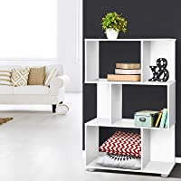 Artiss Display Shelf Rack Storage Organizer Bookshelf, White