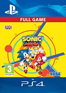 Sonic Mania Standard Edition [PS4 Download Code - UK Account