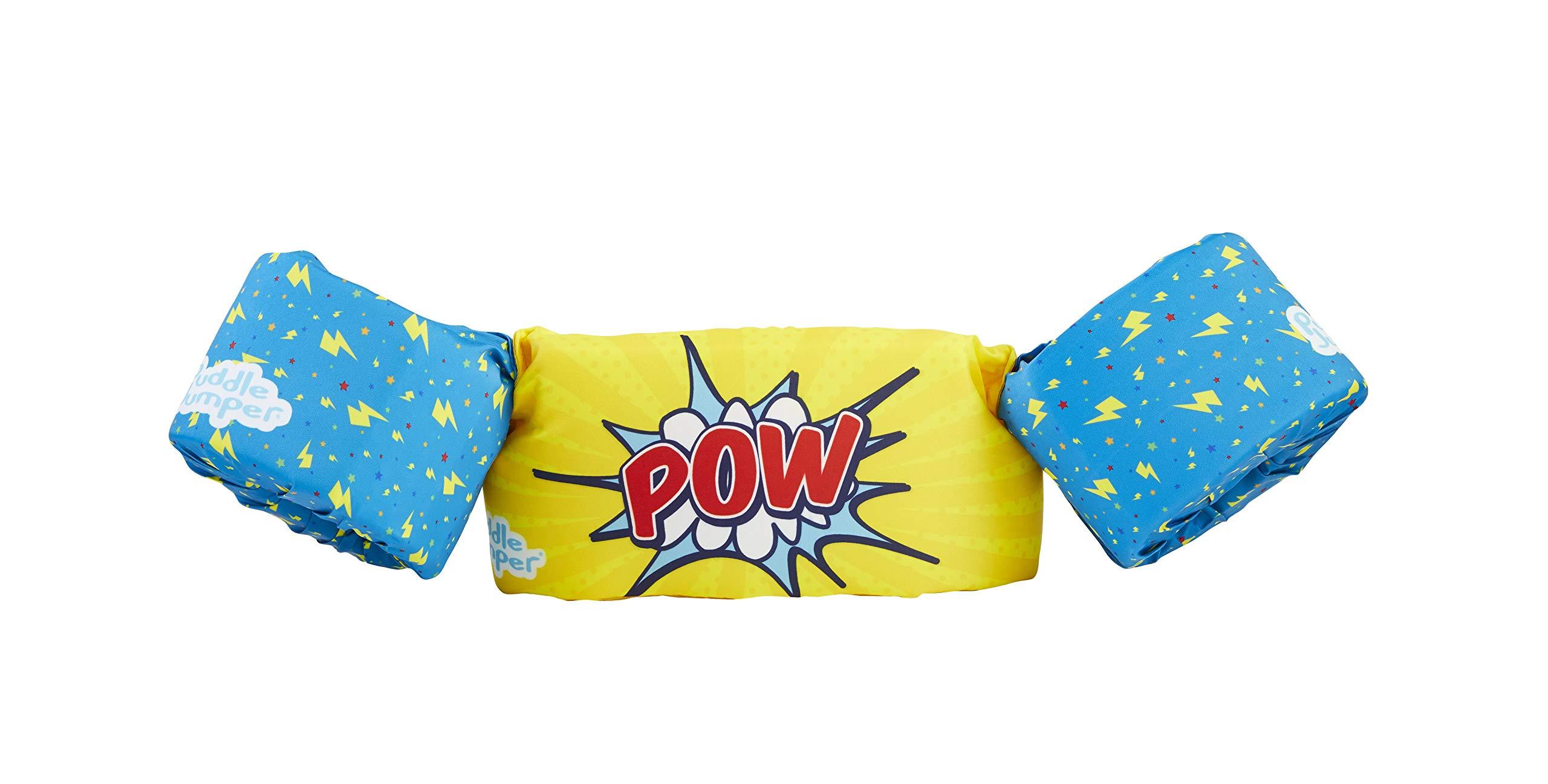 Stearns Puddle Jumper Kids Life Jacket | Life Vest for Children, Pow, 30-50 Pounds
