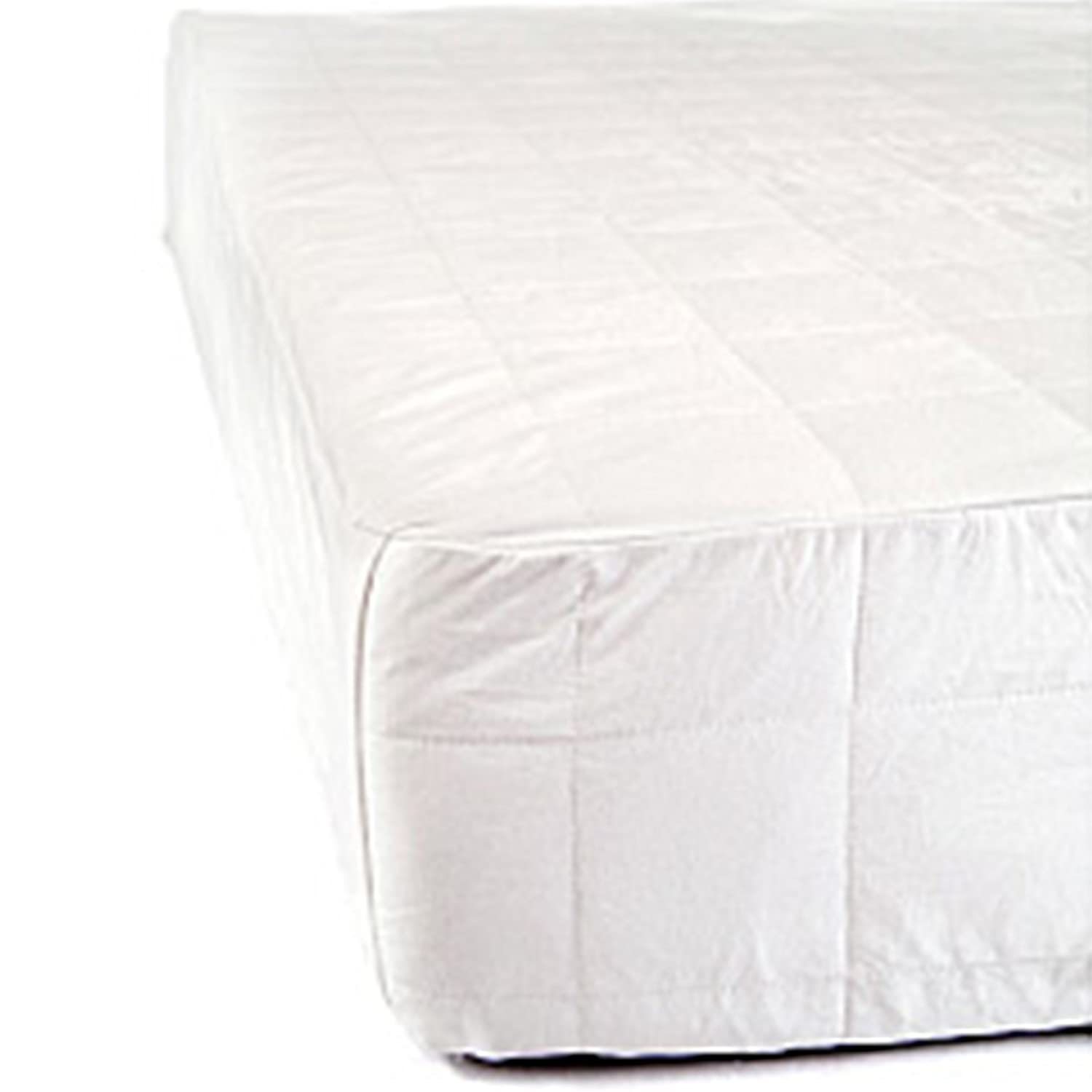 Cal King Size Temperature Regulating All-Season Comfort | All-Natural Silk Filled Luxury Soft Cotton Finish| Certified Asthma and Allergy Friendly SMARTSILK Mattress Protector