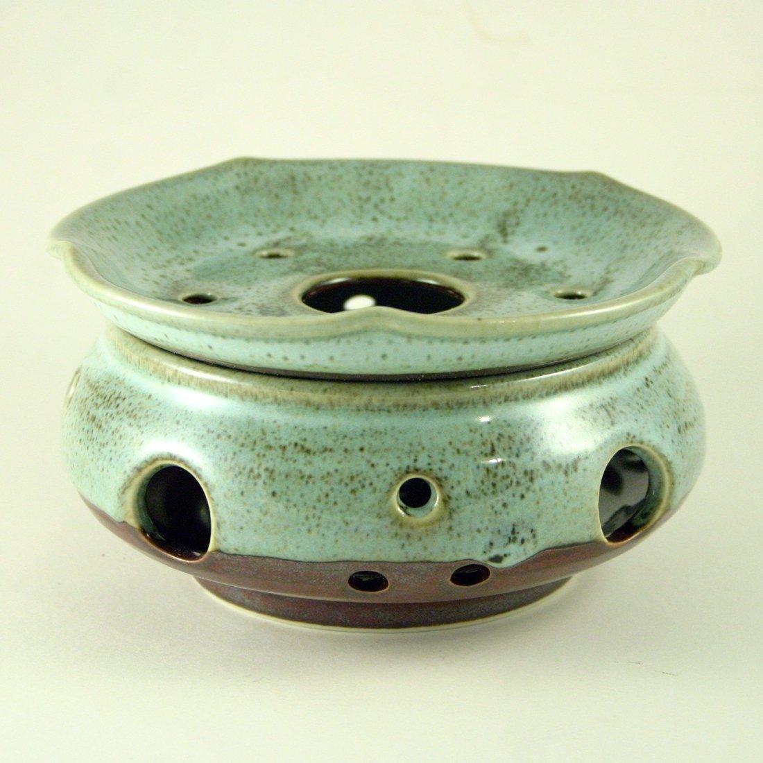 Porcelain Teapot Warmer 'Booncheong' Korean Craft