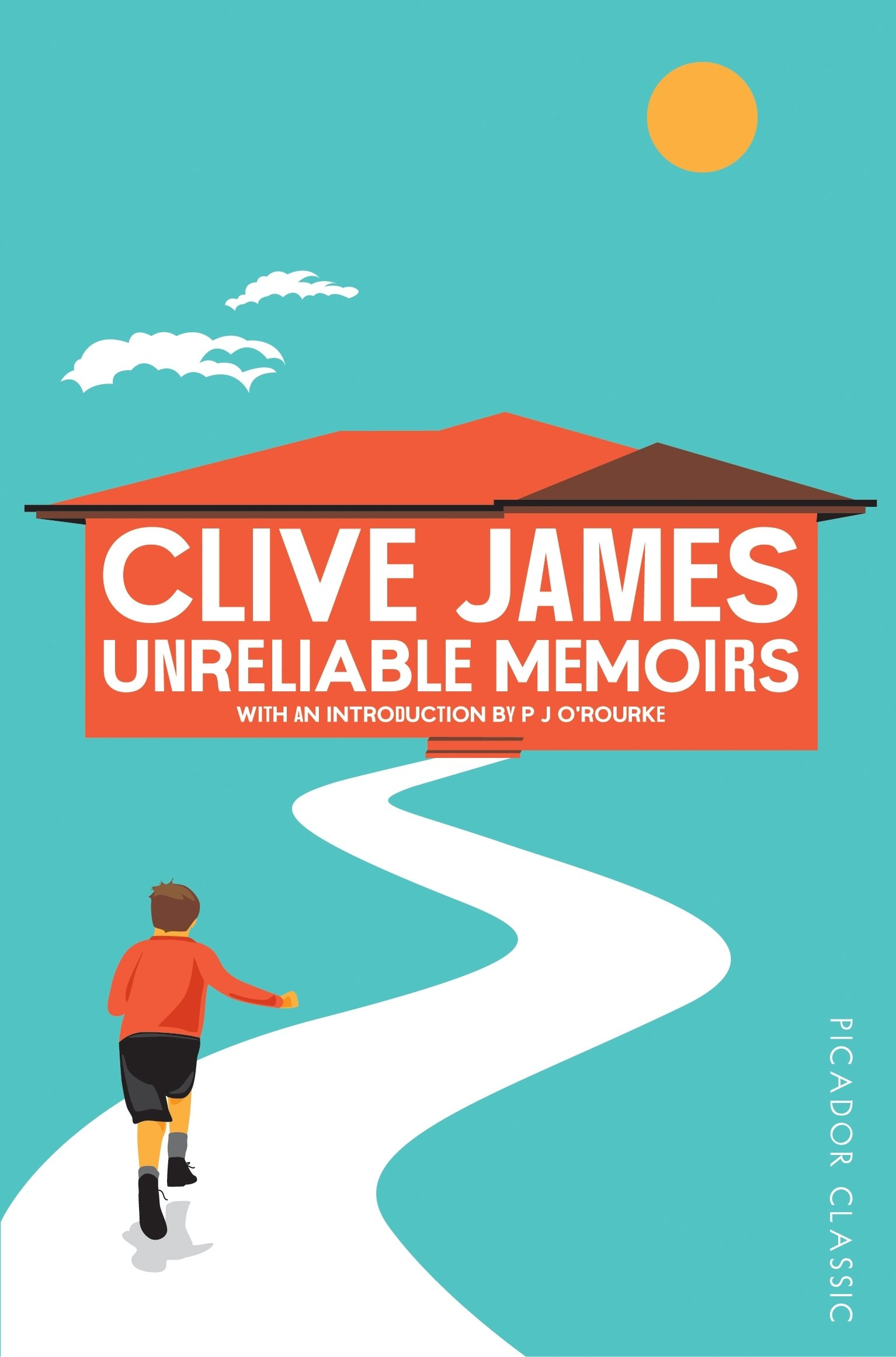 Image result for Clive James Unreliable Memoirs.
