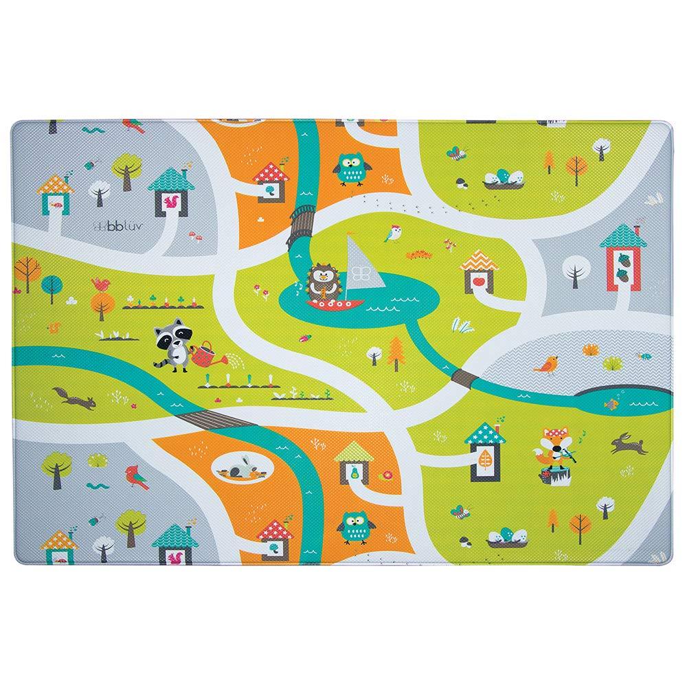 bblüv – Mülti - Soft, Reversible and Safe Playmat (Miles) B0173