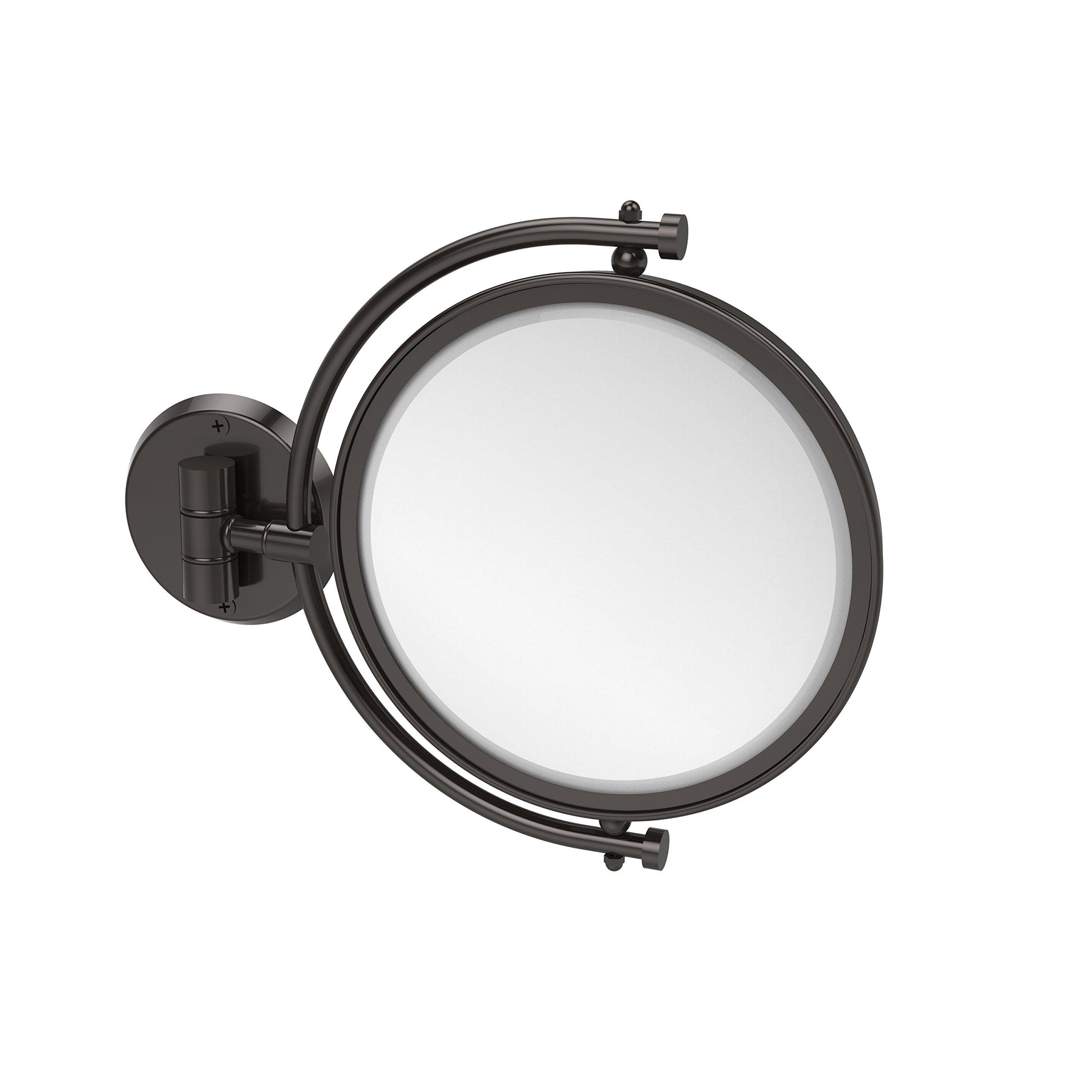Allied Brass 8'' Mirror 2x Mag Extends 7'' Oil Rubbed Bronze