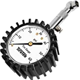 TireTek Premium Car Tire Pressure Gauge 60 PSI - Heavy Duty Tire Gauge ANSI Certified Accurate